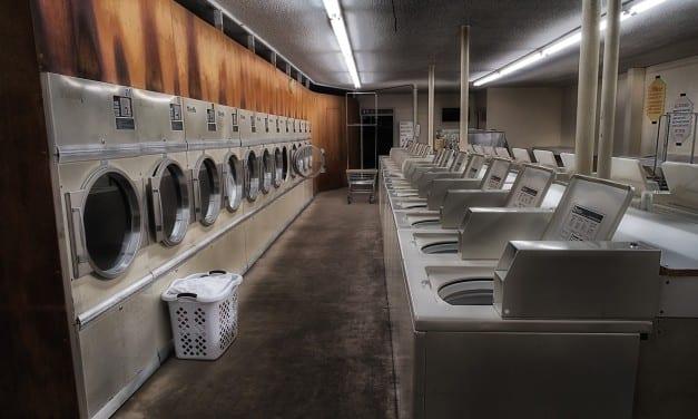 Lonely Laundry by Russ Allison Loar